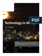 Technology in Africa - 2014 Digest