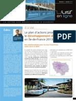 STIF en Ligne Janvier 2014..