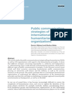 Int Org Influencing Comm Policies 1