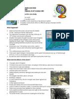 1987 Great Storm Case Study Sheet