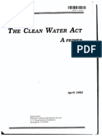 Clean Water Act - A Primer
