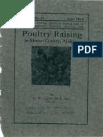 Poultry Raising