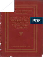 White and Color Washing with Natives Clays