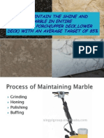 gloss meter reading of marble 1