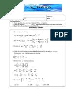 Lista de exercícios de matemática de matrizes e determinantes do 2º ano do ensino médio