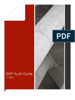 SAP Audit Guide Basis