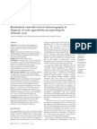 Ultrasonography in Diagnosis of Acute Appendicitis