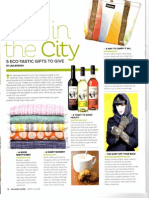 Eco in the City - Village Living - Dec-Jan 2014