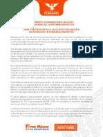 MOVIMIENTO CIUDADANO ANTE LAS LEYES SECUNDARIAS DE LA REFORMA ENERGÉTICA