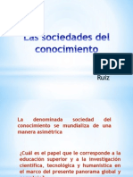 Sociedades Del Conocimiento(Ruiz)