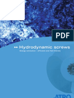 Hydrodynamic Screws