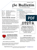 Beagle Elementary School Newsletter February 7, 2014