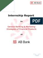 InternsIhip Report AB Bank