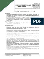 PSO4010 Procedimiento Para Trabajo en Alturas