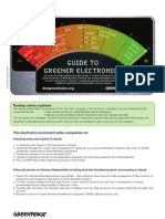 Guide to Greener Electronics!