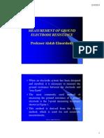 Ahdab Electrode Resistance