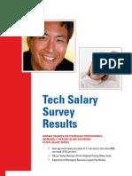 Dice 2007 TechSalarySurvey 1-31-08