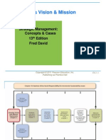 david sm chapter 2 ppt by fred r david stategic management concepts and cases 13th edition