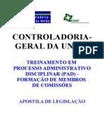Apostila de Legislacao CGU