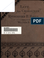 (1876) Sketch of the Life and Character of Rutherford Birchard Hayes
