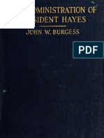 (1916) Administration of President Hayes
