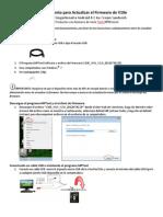 Procedimiento Para Actualizar El Firmware de V10e V11