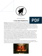 Dossier COLOR PERSONA