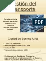 gestión de transporte