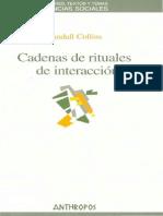 Collins Randall - Cadenas de rituales de interacción