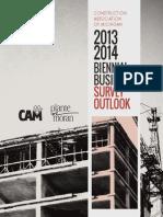 CAM Biennial Business Survey 2013-2014