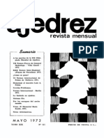 Ajedrez 217-May 1972 Ocr