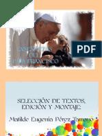 ENSEÑANZAS DEL PAPA FRANCISCO (1)