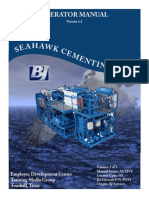 Cementing Seahawk Skid Operator Manual V1.1