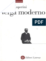 Romano Luperini Verga Moderno