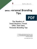 Best Personal Branding Tips