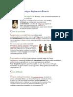 La crisis del Antiguo Régimen en Francia