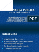 GOVERNANÇA PÚBLICA - SÉRGIO BOECHAT