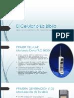 El Celular o La Biblia