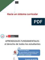 Presentación Sistema Curricular