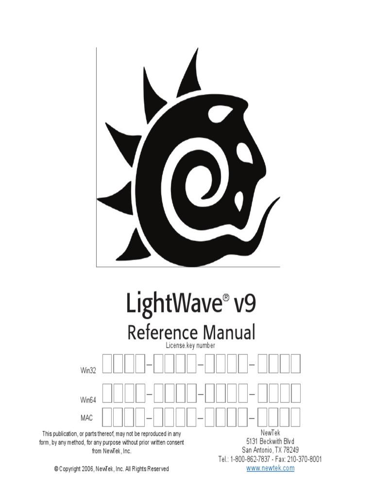 Lightwave Manual
