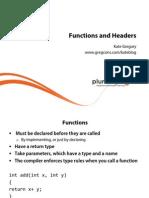 3 Learn Programming Cplusplus m3 Functionsheaders Slides