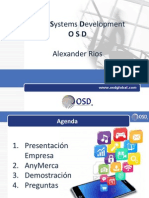 OSD Presentacion AnyMerca - Gestion de Mercaderistas - crm medellin
