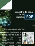 espectro de la senal de video y radiofrecuencia