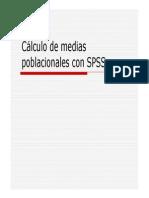 SPSS Intervalo Confianza Media