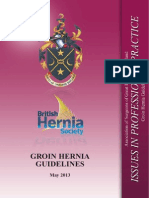 Groin Hernia Guidelines BHS 2013