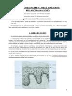 24.. Lesiones Pigmentarias Malignas. Melanoma Maligno