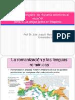 La Lengua Latina en Hispania