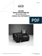 DR 4000 Manual Del Instrumento-Spanish (1)