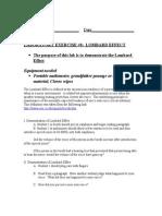 Lab 8 Lombard Effect