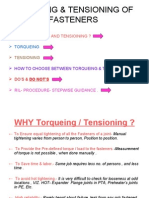 Presentation on Torqueing Tension Ing